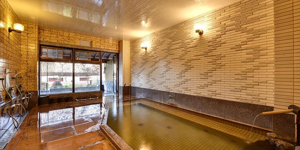 楽水園 温泉 内湯